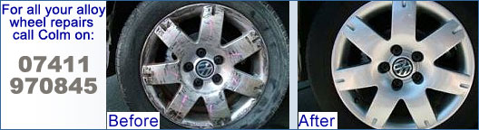 Alloy wheels Jaguar BMW Mercedes VW Golf Alfa Romeo Mini Audi alloy wheel refurbishment Cranleigh, Horley, Gatwick, Haslemere, Petworth, Dorking, Guildford, Godalming, corroded, corrosion, scratched, dented, buckled, buckles, dented, curbed, kerbed, scuffed, scuffs, dented, cracked, leaks, curbed, kerbed alloys